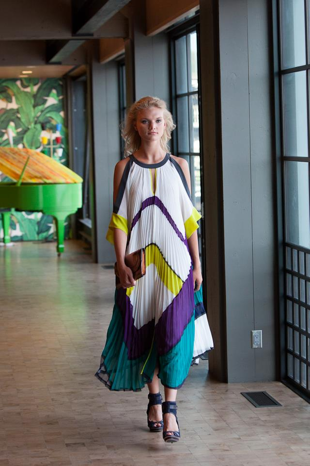 Ultra-Exclusive BCBG Fashion Show for Seattle's top fashionistas at the Chihuly Boathouse in Seattle