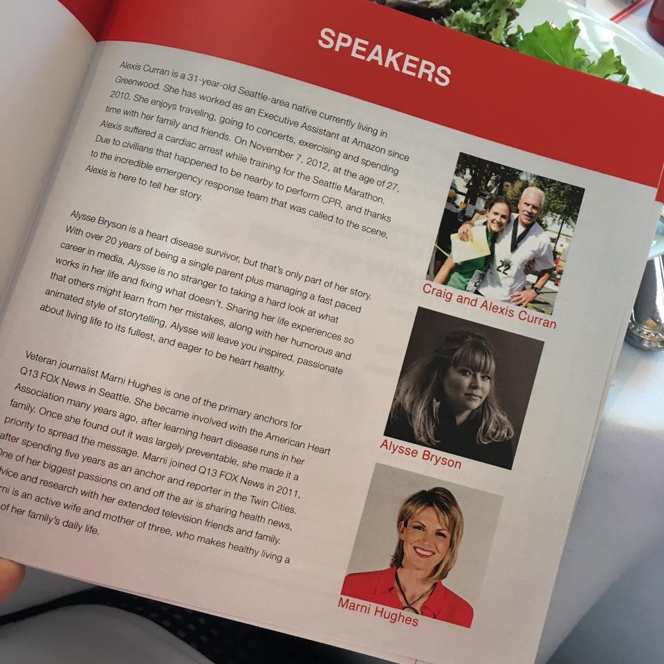 Go Red for Women Key Note Speech March 2017