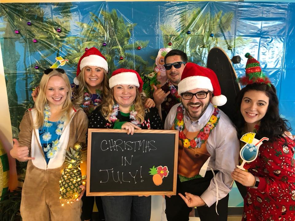 KING 5 MEDIA GROUP, a TEGNA Company, takes our holiday celebrations very seriously. 2017 proved that the traditions do continue!