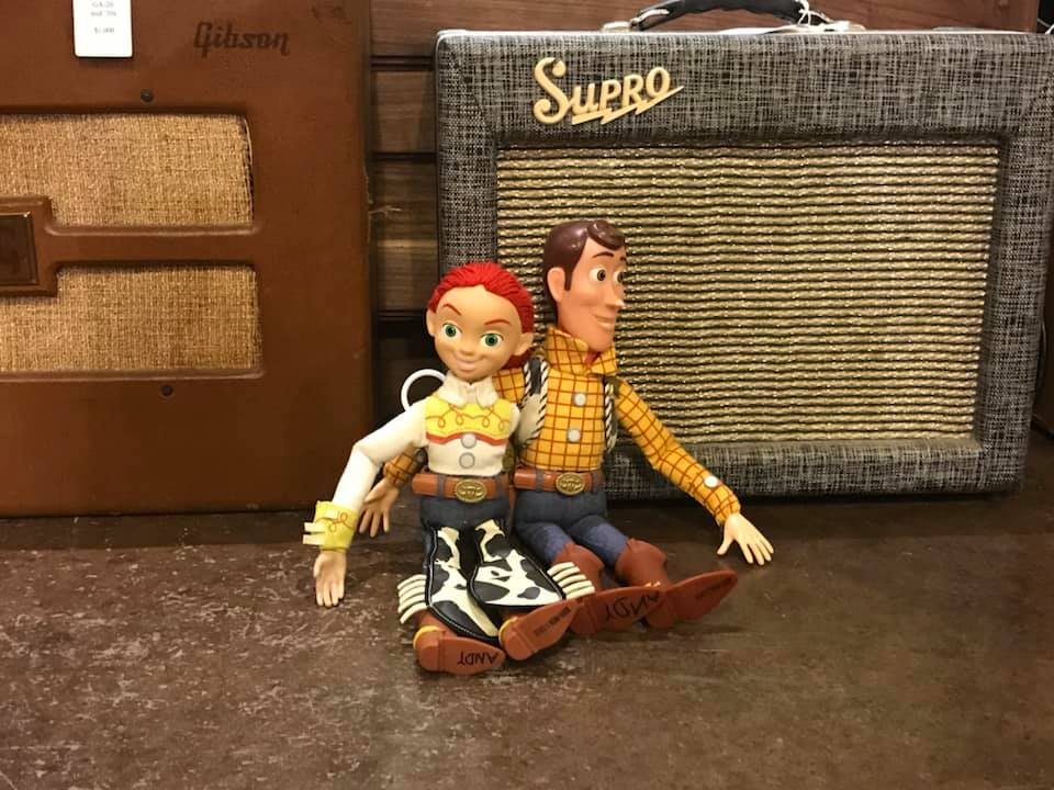 Jesse & Woody take a trip: Toy Story Travels to Nashville and gets their boot, scoot, and boogie on!