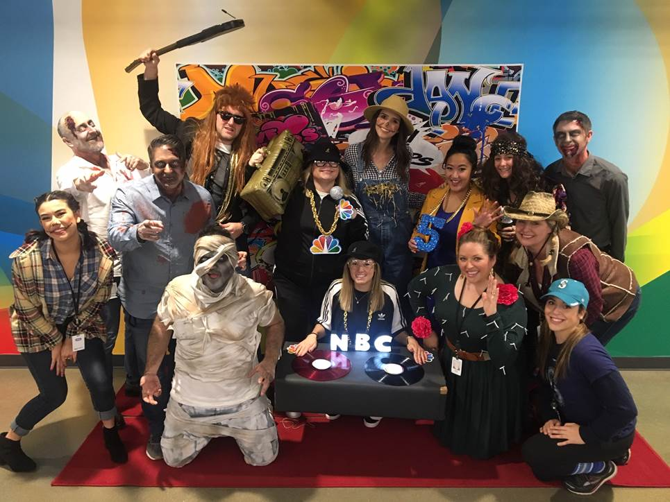 KING 5 NBC SEATTLE, a TEGNA COMPANY, goes B-A-N-A-N-A-S in 2018 with their annual HALLOWEEN COSTUME CONTEST