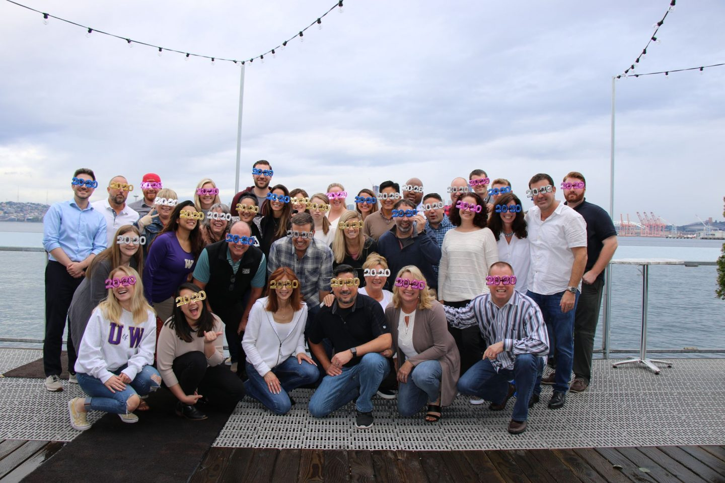 KING 5 Sales Team, a TEGNA Company, celebrates their annual strategy plan meeting with 20/20 Vision on 2020, including 2020 Tokyo Olympics and Epic Sponsorship Opportunities