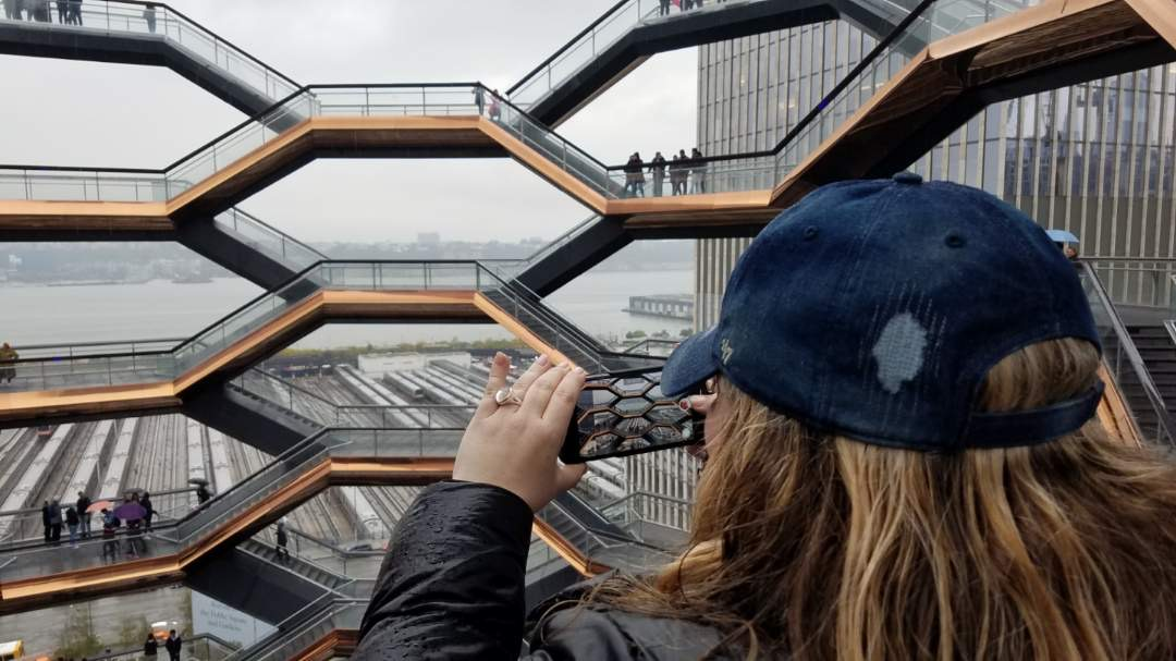 Meeting up with friends in New York City? Spend the day at The Vessel at Hudson Yards, The Grand Bazaar NYC, and the Chelsea Market